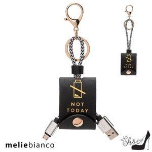Melie Bianco Black USB iPhone Charger